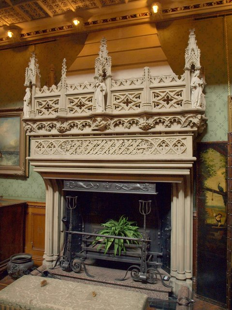 Components of a fireplace