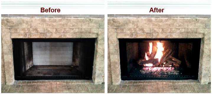 Coverting A Wood Burning Fireplace Into A Gas Unit