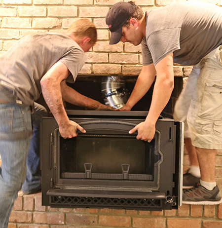 firebox repair and fireplace installation