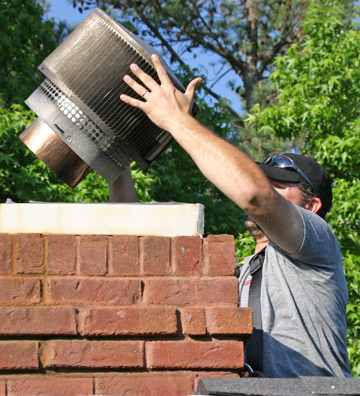 Chimney Cap Installation - Buckhead GA